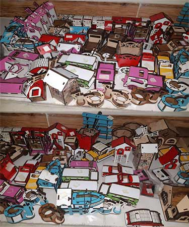 فروش لوازم تزئینی دکوری چوبی