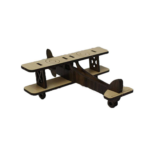 خرید ماکت دکوری هواپیما چوبی