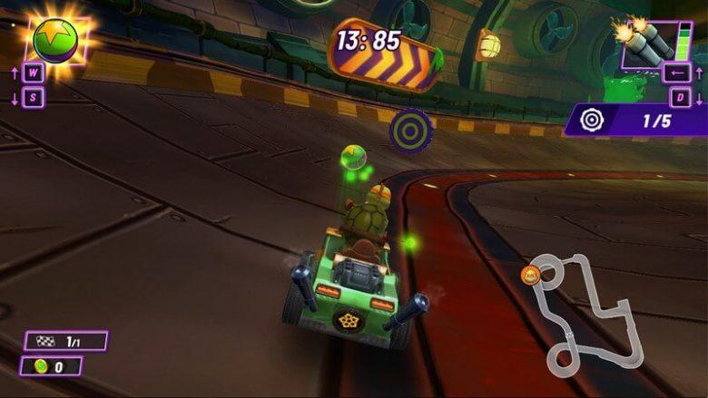 خرید بازی Nickelodeon Kart Racers 2