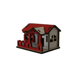 خرید ماکت دکوری خانه چوبی